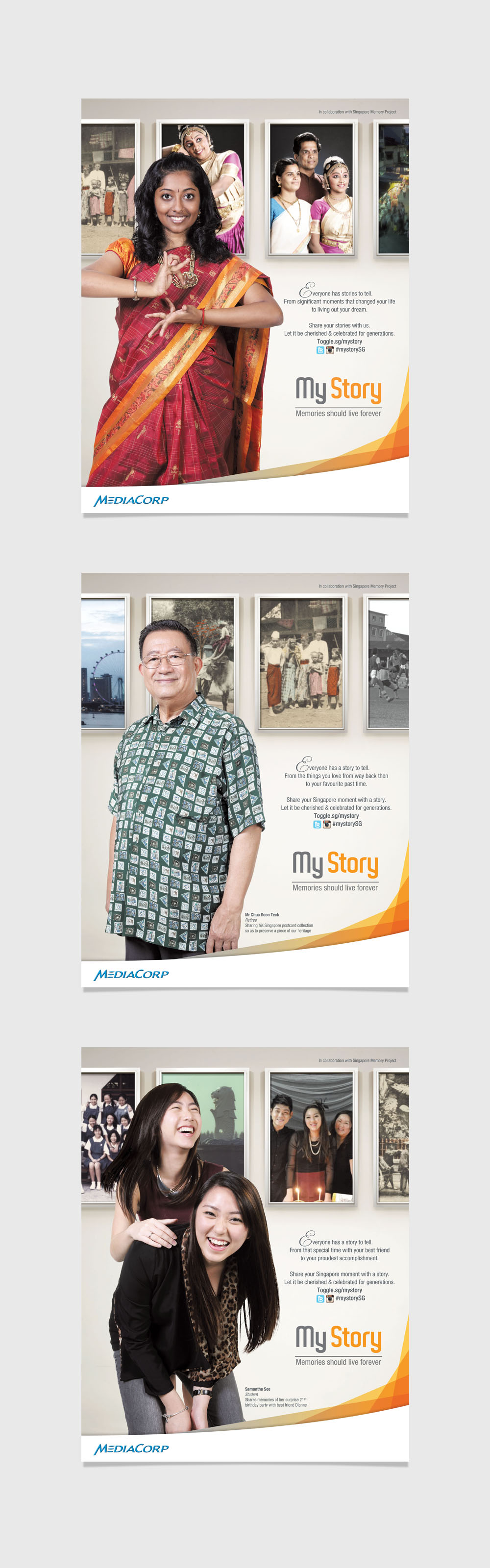My Story Branding Campaign