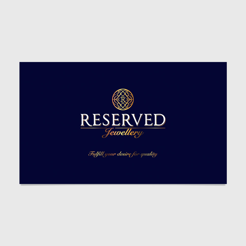 Reserved Jewellery Brand Design