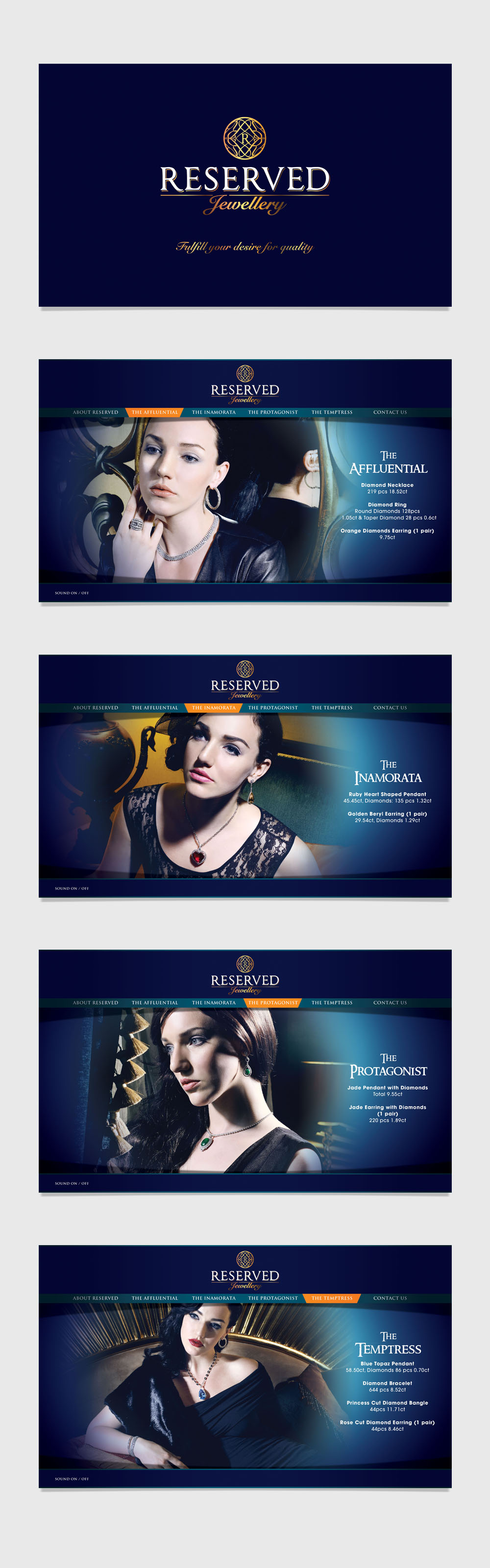 Reserved Jewellery Branding Campaign
