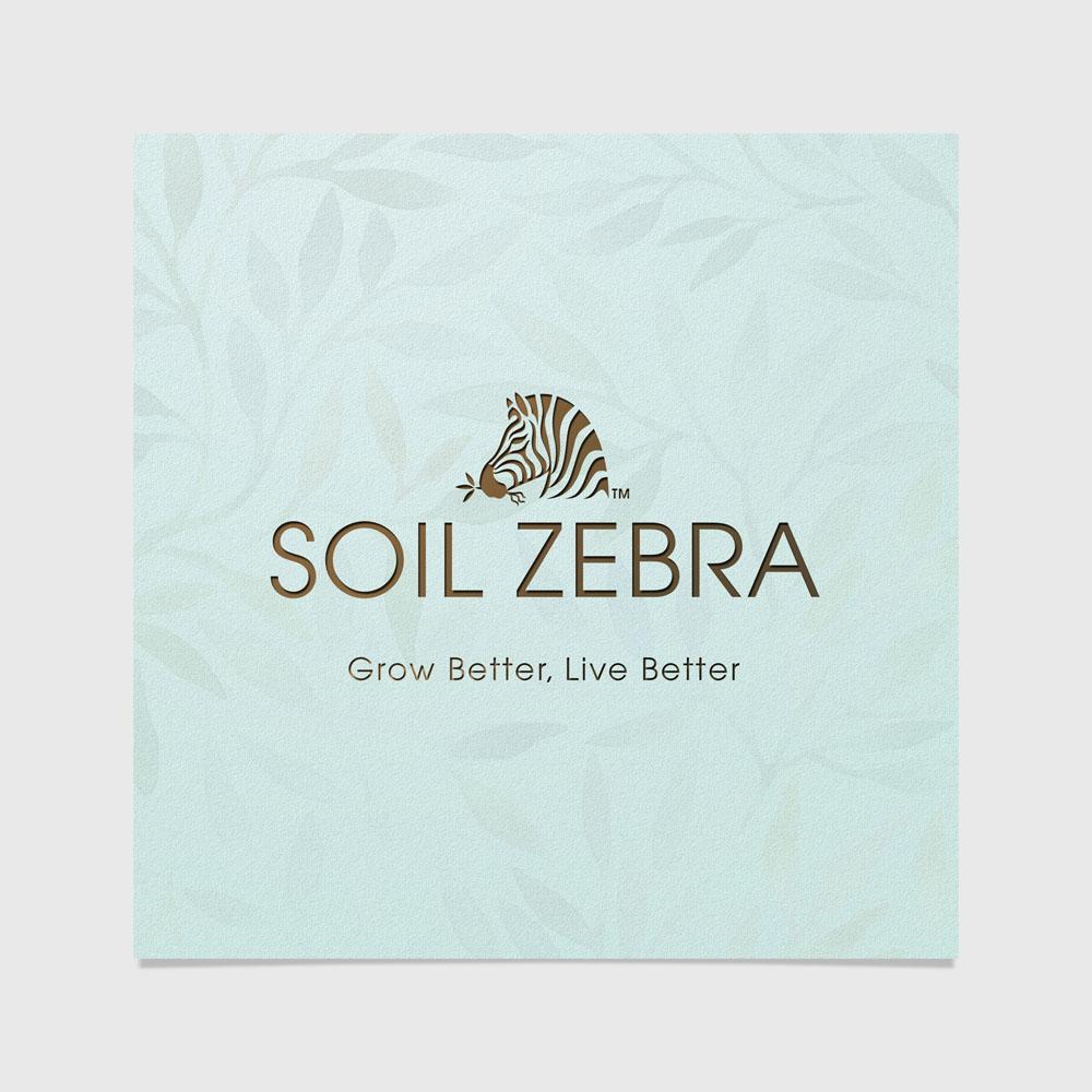 Soil Zebra Brand Design